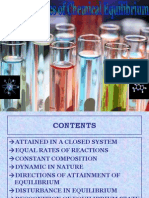 Characterstics of chemical equilibrium