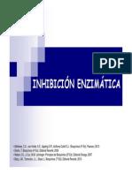 02- Cinetica Enzimatica-2- Inibicion-Alumnos- 16 Oct 2014
