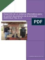 ''Pyo. de Análisis y Diseño de Sistemas'' by Elvis Centeno G. (Modelo Base)