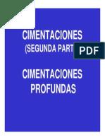 2. Infu-cimentaciones Profundas