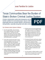 Texas Communities Bear the Burden of State's Broken Criminal Justice System