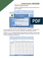 Modulos en Excel para Colegios