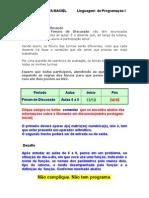Forum Dicussao C LPI