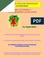 Precaución y Toxicidad de Las Plantas
