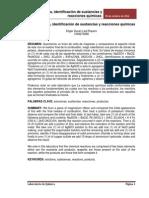 Informe Nomenclatura y Reacciones Quimicas