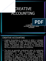 Creative Accounting