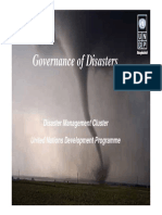 Governance Disaster