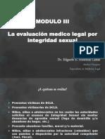 La Evaluacion Medico Legal Por Integridad Sexual