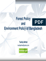 Forest and Environment Policy