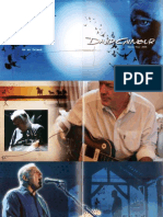 DG on an Island Tourbook (DAvid Gilmour)