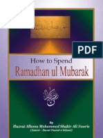 How to Spend Ramadhan (English)