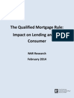 January 2014 QM Mortgage Originators Survey