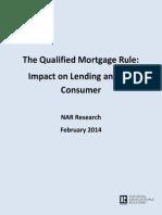 January 2014 QM Mortgage Originators Survey