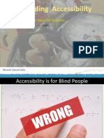 De Mystifying Accessibility