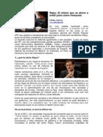 Rajoy-El mismo que se atreve a emitir juicio sobre Venezuela