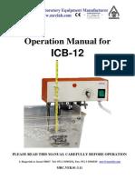 Icb 12o Bath Maual Operacion