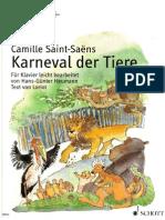 Meisterwerke Zum Kennenlernen Karneval Der Tiere