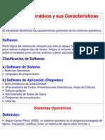 sistemas operativos y sus caractersticas