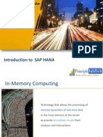 sap hana|sap hana database| Intraoduction to sap hana