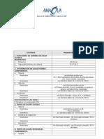 Resumen de Normas y Especificaciones Técnicas