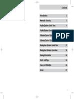 Ford Denso Navigation User Manual