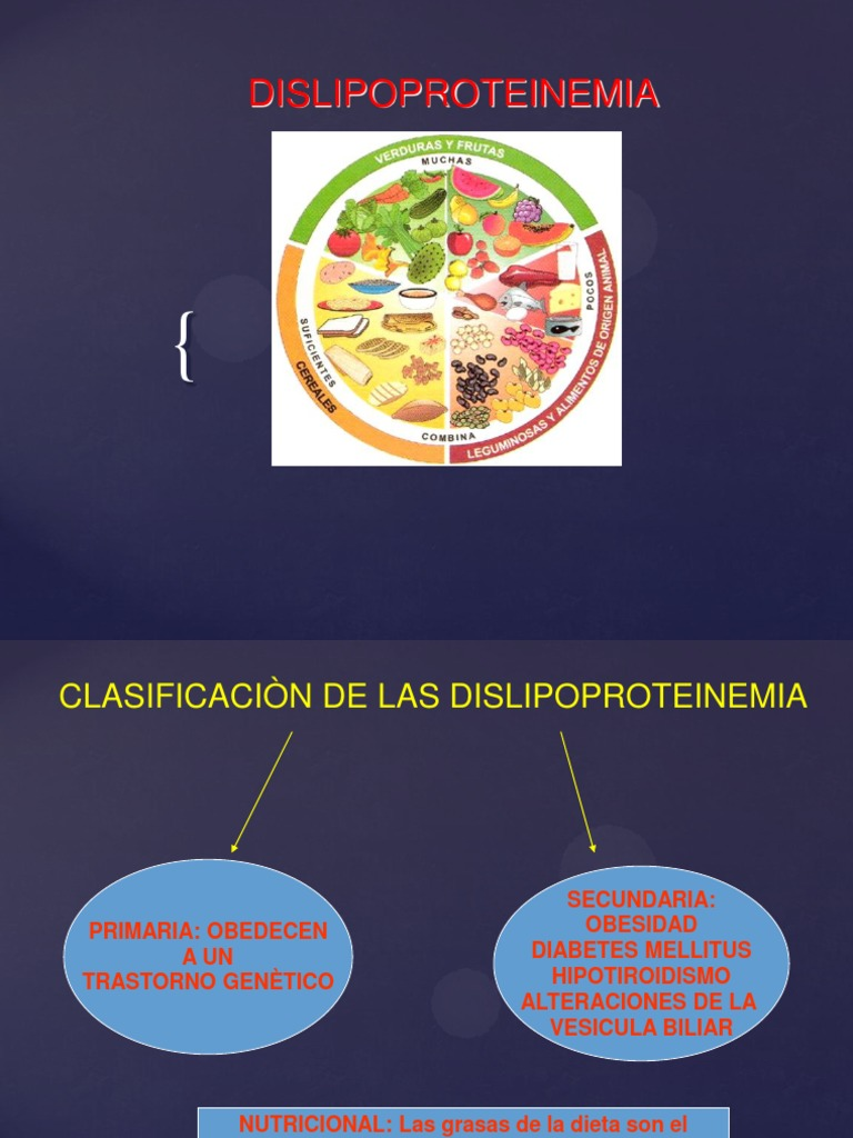 dieta de diabetes dislipoproteinemia