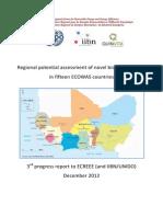 Ecreee-unido Bioenergy Crops Assessment Third Report