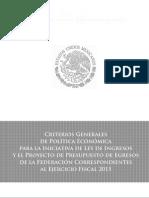 Criterios Generales Pe 2015