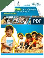 Plan Regional de Acción por la Infancia y la Adolescencia Ucayali 2013-2021