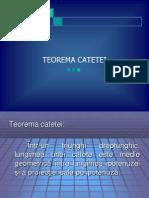 0 Teorema Catetei