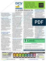Pharmacy Daily for Fri 31 Oct 2014 - 2/3 for variable dispense fee, Chemist Warehouse ad complaint upheld, Novartis wins Sigma Supplier, EMA aids biosimilars, and much more