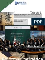 Regulación y Financiamiento de los recursos energéticos.