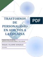 Trastornos de Personalidad en Adictos a La Cocaina