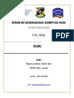 Fail Meja Cover (GURU)
