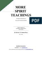 21 - William Stainton Moses - More Spirit Teachings (en)
