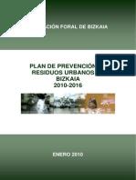 Plan de Prevención de Residuos 2010-2016