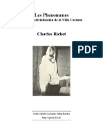 27 - Charlesl Richet - Les Phenomenes de Material is at Ion de La Villa Carmen - Fr