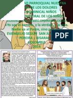 Hojita Evangelio Domingo Xxxi to a Color