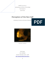 Perception of the Non-Self
