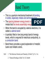 Band Theory 1
