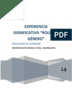 Experiencia Significativa Roles de Genero Terminado