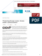 'Protecting Escape Routes_ Smoke Shafts v Pressurisation' _ Means of Escape - Fire Safety Magazine