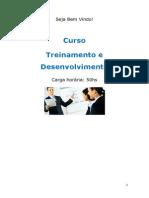 Curso Treinamento e Desenvolvimento