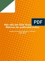 Más allá del Click Through Rate; Métricas de publicidad online