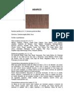 madera abarco o cachimbo-peru