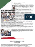 24 Pa Hinahanap Sa Cavite Sea Mishap