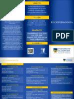 Carrera psicopedagogía UACA