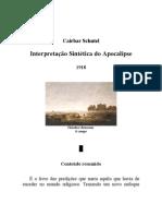 Cairbar Schutel - Interpretação Sintética do Apocalipse