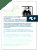 Biografia de Tereza González de Fanning