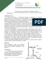 TP Nº 4_Agua de Cristalización - Gravimetría